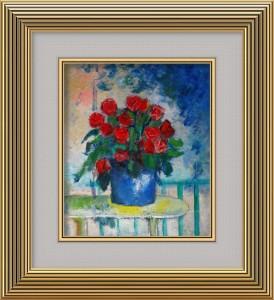 赤い花F10